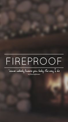 Fireproof // One Direction // ctto: @stylinsonphones (on Twitter)