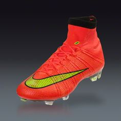 Nike Mercurial Superfly - World Cup. Omg these are the next cleats I'm getting, as soon as they come out. I LOVE these!!!!!!!!