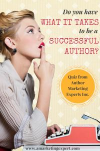 Do YOU have what it takes to be a successful author? Find out with our quiz! #authors #amwriting #quiz