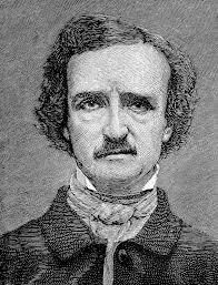 Edgar Allan Poe smiles   Linda Vernon Humor