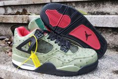 "a529a28a5b83 2019 The Shoe Surgeon s ""Cactus Jack"" Air Jordan 4 Custom For Sale"