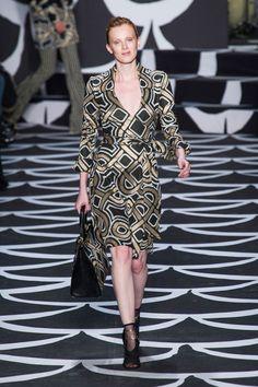 Diane von Furstenberg at New York Fashion Week Fall 2014 - Runway Photos