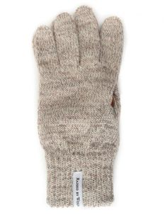 5fbbbe8b2e36 Buy Deerskin Gloves - Heather Grey Black by Raised by Wolves from our  Accessories range - Greys