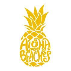 Aloha Beaches Pack Cuttable Design