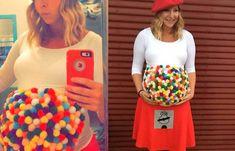 Disfraces de Halloween para embarazadas