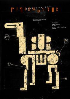 poster by Isidro Ferrer on blog Animalarium: October 2009