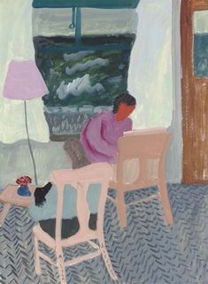 <3 Milton Avery, Indoor Sketcher for painterly quality & colors