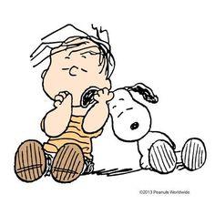Linus and Snoppy Peanuts Gang, Peanuts Cartoon, Meu Amigo Charlie Brown, Charlie Brown Y Snoopy, Peanuts Characters, Cartoon Characters, Charles Shultz, Snoopy Quotes, Joe Cool