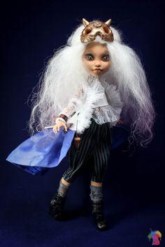 OOAK Monster High Repaint Doll Custom OOAK by MonsterHighDream