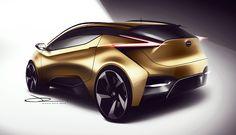 Nissan on Behance