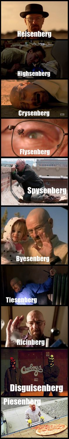 Breaking Bad: He's Pretty Fly for a White Guysenberg
