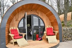 Luxury Camping Pods for Glamping Holidays in Yorkshire: Catgill Farm Camping Pod, Camping Tips, Tent Camping, Lake Camping, Bungalows, Cosy Tent, Bungalow Camping, Cabana, Luxury Camping Tents