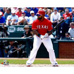 "Prince Fielder Texas Rangers Fanatics Authentic Autographed 16"" x 20"" Pre-Swing Photograph - $37.99"