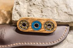 Wood Hand Spinner Fidget Toy with Bearings by GiftedThimble
