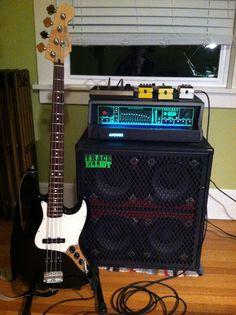 MIM Fender Jazz Bass + Trace Elliot Amp