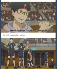 1/2 Oh dear, season 3 of Haikyuu!! looks promising