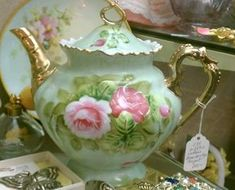 Artful Affirmations: Tea Cup Tuesday-Antique Shopping for Tea Cups