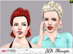 Colores Urbanos' curbs 50s hairstyles03v2