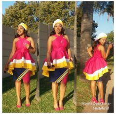 Pedi Traditional Attire, Sepedi Traditional Dresses, South African Traditional Dresses, Traditional Fashion, Short African Dresses, Latest African Fashion Dresses, African Wear, Xhosa, African Weddings