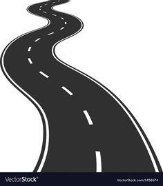 Winding road vector image on VectorStock Luxury Background, Gold Background, Background Vintage, Poster Background Design, Vector Background, Free Vector Images, Vector Free, Road Vector, Alphabet