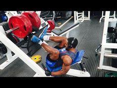 Vegan Athlete - Leg Day Motivation (feat Damien) - YouTube