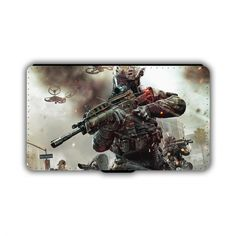 Gaming Call of Duty PU Leather Wallet iPhone Phone Case 03