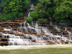 Rock Island State Park, TN - This is what you dream of when it comes to swimming holes in the summer time