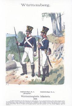 Band V #60.- Württemberg. Infanterie. 1813.