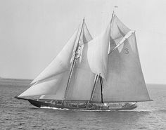 Columbia was a 141' classic Gloucester Fishing Schooner built at the historic A.D. Story shipyard of Essex, Massachusetts. Essex was the center for North American Fishing Schooner construction. Designed by the innovative William Starling Burgess, the Columbia was bred for speed. In the fall of 1923, the Columbia challenged the Bluenose, Canada's legendary schooner in the International Fishermen's Cup Races in Halifax. Nearly winning the title, the Columbia was narrowly def