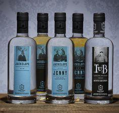 Peach Street Distillers Rebrand — The Dieline - Branding & Packaging
