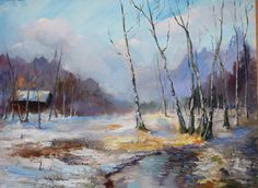 winter: winter oil paint on board size: 030 X 40 cm price: 100 The post winter appeared first on ArtClickIreland.com. #IrishArt