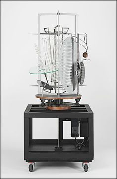Light Prop for an Electric Stage (Light-Space Modulator) - Laszlo Moholy-Nagy