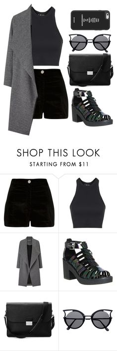 """hiya"" by guadalupebellorin on Polyvore featuring River Island, Topshop, Miss Selfridge, Office and Aspinal of London"