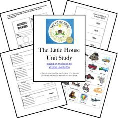 The Little House Unit Study Lessons Lapbook Printables FREE; matches Mike Mulligan and More for Sonlight Preschool Core 3/4