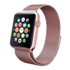 Compatible with Apple Watch strap milanese Watch strap stainless steel compatible. exquisite milanese strap instead. 1 apple watch milanese strap (watch not included). with iWatch strap compatible with Apple Watch Apple Watch Serie 1, Buy Apple Watch, Apple Watch Sizes, Gold Apple Watch, Apple Watch 42mm, Apple Watch Bands, Watch 2, Apple Watch Replacement Bands, Bracelet Apple Watch