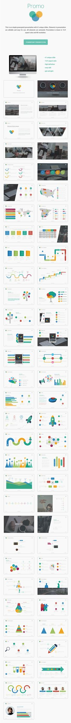 Promo PowerPoint Template #design #slides Download: http://graphicriver.net/item/promo/12358265?ref=ksioks
