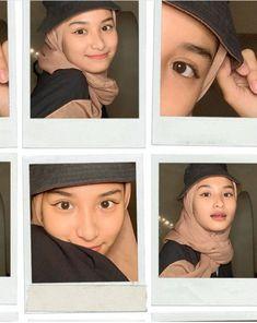 Modern Hijab Fashion, Street Hijab Fashion, Selfie Ideas, Frame Template, Ootd Hijab, Girly Pictures, Beautiful Hijab, Photo Poses, Bff