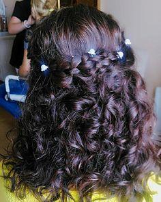 Bridal upstyle Bridal, Hair Styles, Beauty, Beleza, Bride, Hair Makeup, Hair Looks, Brides, Haircut Styles