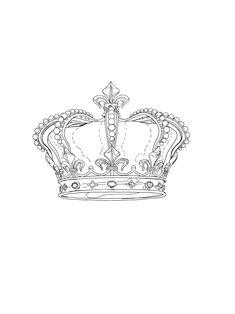 Crown Tattoo Design, Skull Tattoo Design, Tattoo Designs, Corona Tattoo, Trash Polka, Crown Drawing, Watch Tattoos, Kings Crown, Tattoo Stencils