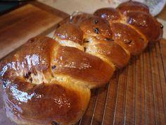 Peanut Butter Cake.: Hot Cross Bun Plaited Loaf.