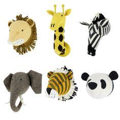 Giraffe Animal Head - Fiona Walker