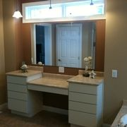 JR13 Master Bath Mirrored Vanity  by Rochester Homes
