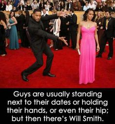 "hahaha. I love Will Smith. Dad of two, he's still a ""Fresh Prince of Bel Air"" :D"
