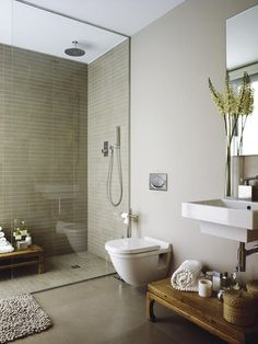Ideas y tendencias para baños Zara Home Bathroom, Small Bathroom With Shower, New Bathroom Ideas, Bathroom Layout, Bathroom Interior Design, Bathroom Inspiration, Modern Bathroom, Bad Inspiration, Bath Design