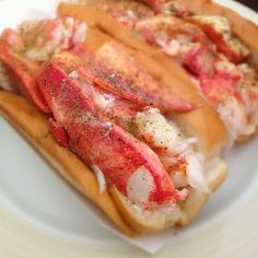 The best lobster rolls in the city.