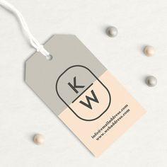 Custom Hang Tags Custom Clothing Labels Custom by OrangeValentine