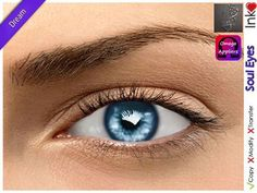 PROMO UNTIL 03 MARCH - * Inkheart * - Soul Eyes - Dream (4 Sizes S, M, G&O)