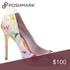 Ted Baker Savenniers Court Shoes in Pink These sit in my closet because I never got the chance to wear them.....I wore them once to a wedding and got a billion compliments. Ted Baker Shoes Heels