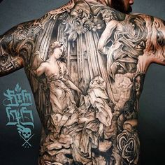 Artist:Big Gus Every Day the best Tattoos of three Pages!!!! Follow us on Instagram http://instagram.com/tattoo_circle_worldwide/ (Best Tattoos)
