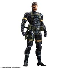 Koch – Figura Snake Metal Gear Solid 5: Ground Zeroes Play Arts | Your #1 Source for Toys and Games